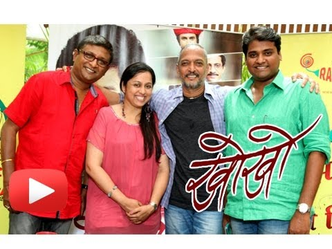 Nana Patekar Promotes Promotional Song Of Marathi Movie Kho Kho !