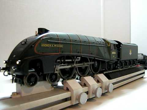 Hornby BR A4 DCC Sound Smoke & Lights