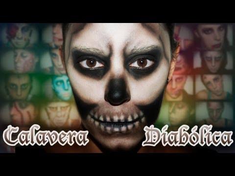 Maquillaje Halloween: Esqueleto diabólico, efectos especiales | Silvia Quiros