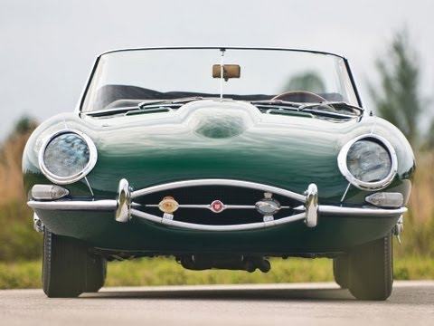 1962 Jaguar E-Type Series I 3.8-Liter Roadster $107,250 SOLD!
