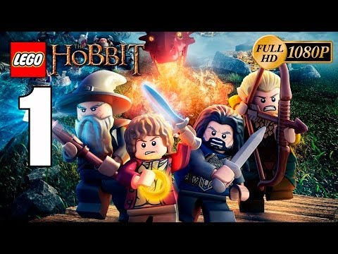 LEGO The Hobbit: El Videojuego Gameplay Español Parte 1 Walkthrough PC 1080p Let's Play Coop