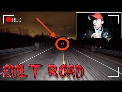 (Insane) D0 NOT EVER VISIT A HAUNTED CULT ROAD AT 3AM (I Found This...)