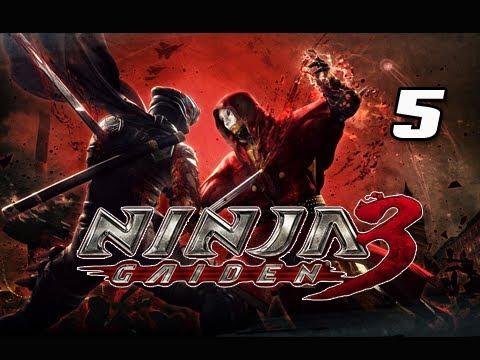 Ninja Gaiden 3 Walkthrough - Part 5 [Day 2 Rub' al Khali] Jukebox of Death PS3 XBOX Let's Play