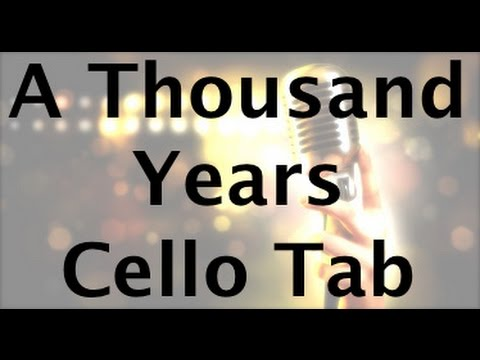 A Thousand Years on the Cello