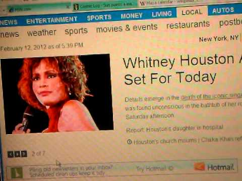 WHITNEY HOUSTON 2012 Death Mystery: Mortis Causa #1 Media, Musical Illuminati & Fickle Masses