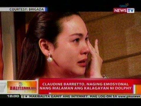 Bt: Claudine Barretto, Naging Emosyonal Nang Malaman Ang Kalagayan Ni Dolphy video
