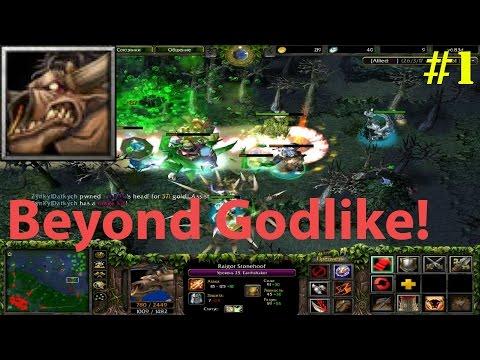 DoTa 6.83d - Earthshaker, Raigor Stonehoof ★ Beyond GODLIKE! #1