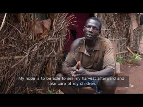 Bringing #seeds4change to farmers in the Central African Republic: Nicolas's story