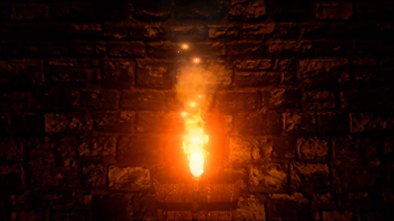 Fire Torch Wallpaper Torch Fire Ue4
