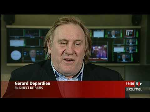 Cinéma: entretien avec Gérard Depardieu, qui présente le film