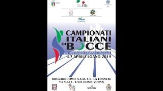 Campionato Italiano Bocce DIR 2019
