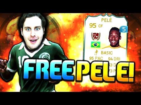 EA RELEASES FREE LEGEND PELE! FIFA 15 ULTIMATE TEAM