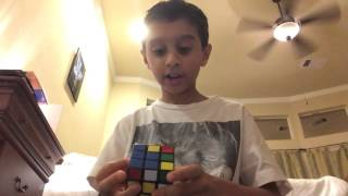 How to solve a Rubik's Cube in 2 moves! 12 Days of Christmas!