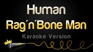 Download Lagu Rag'n'Bone Man - Human (Karaoke Version) Gratis STAFABAND