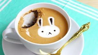 How to Make a Latte Art Mug Cake!