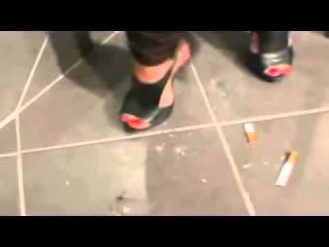 Christina crush cig with very sexy high heels!!