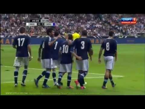 Germany 0-1 Argentina Sami Khedira Fail OWN goal