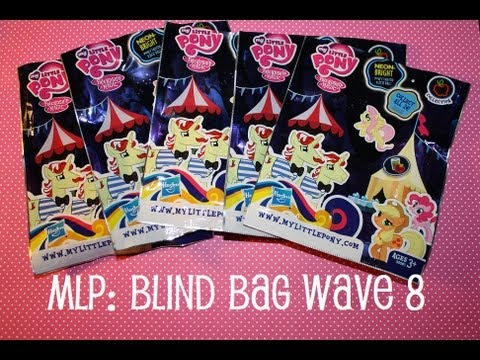 My Little Pony FiM Blind Bags Wave 8 – Opening