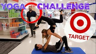 EXTREME SIBLING YOGA CHALLENGE IN TARGET!