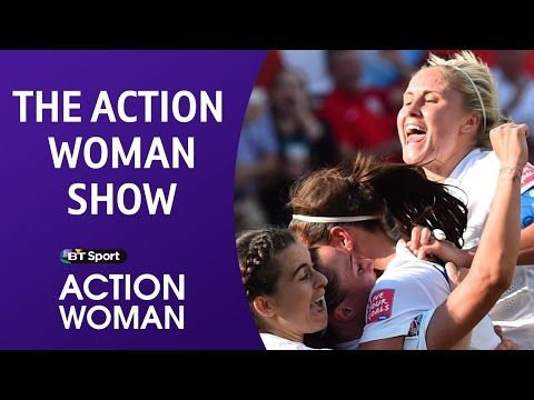England women's football team, Eugenie Bouchard and Jade Jones | The Action Woman Show