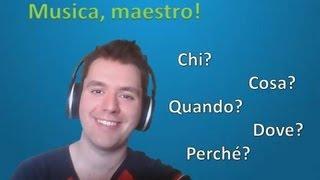 Apprendre l'italien - Leçon 9