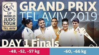 Judo Grand-Prix Tel Aviv 2019: Day 1 - Final Block