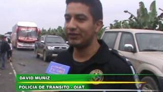 Tv Oro Noticias - Accidente transito via Guabo-Guayaquil - 14-12-2016