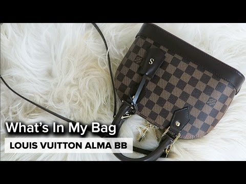 LOUIS VUITTON ALMA BB | What's In my Bag & Review
