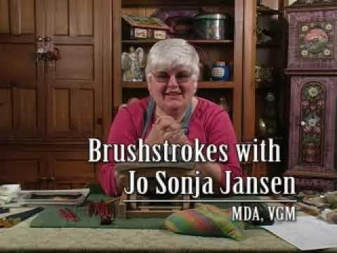 Os Rosemaling and Brushstrokes DVD