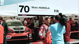 Mato Homola - ETCC + WTCC Slovakia Ring 2015 /OFFICIAL VIDEO/