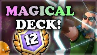 Magic Archer Bridge Spam Deck | Clash Royale 🍊