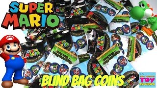 Super Mario Challenge Coins Blind Bag Opening | PSToyReviews