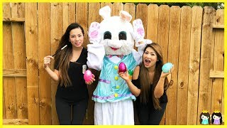 Easter Bunny Visits Princess ToysReview | Easter Egg hunt with Magic Wand!