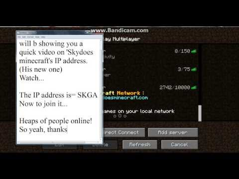 SkyDoesMinecraft IP Address