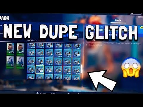 New Duplication Glitch! Fortnite Save The World