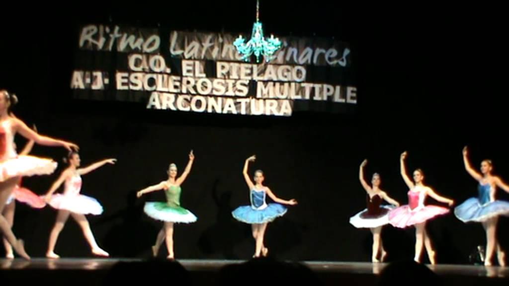 """V Gala Ben�fica Ritmo Latino Linares. Ballet Cl�sico """"La Bella ..."""