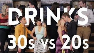 Drinking in Your 30s Vs. Drinking in Your 20s