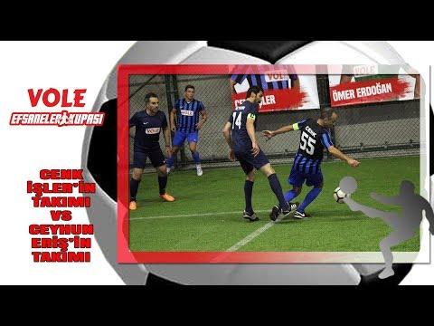 Vole Efsaneler Turnuvası | Cenk İşler' in takımı - Ceyhun Eriş' in takımı mücadelesi