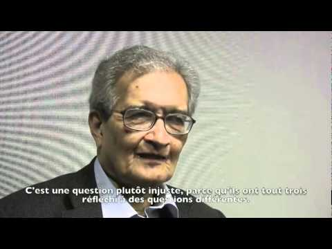 Amartya Sen - The Economic Crisis and Adam Smith
