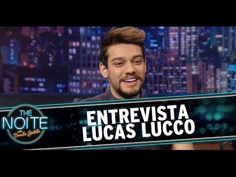 The Noite 29/05/14 (parte 1) - Entrevista Lucas Lucco