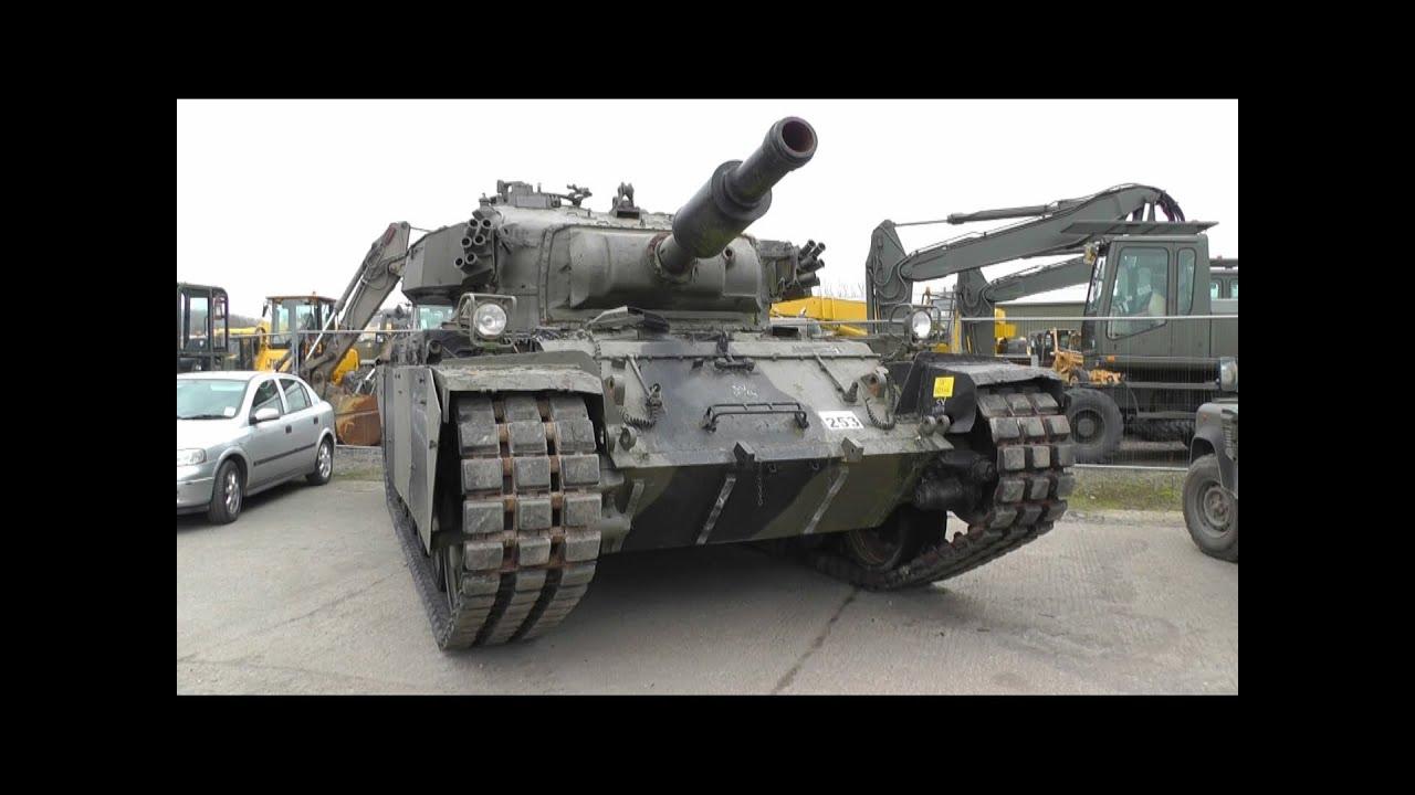 Military Surplus Auction >> Centurian AVRE 165 Surplus Tank - YouTube