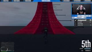 DE BESTE STUNT OOIT GEMAAKT! (GTA V Online Funny Races)