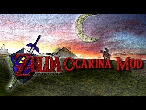 Minecraft: The Ocarina Mod - Legend of Zelda 1.6.4 [German][HD]
