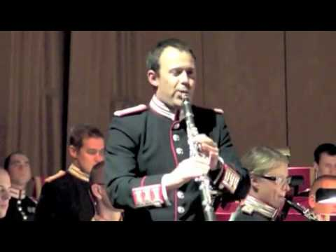 Theme from Schindlers List performed by Gardeskapellet from The Swedish Army Band featuring Kristian Möller on soloclarinet. Conducted by Hans Ek. Recorded live at Berwaldhallen 11 October 2009.