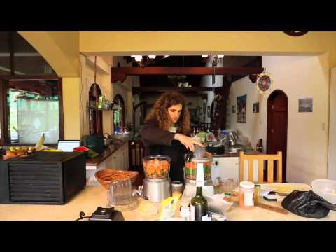 Raw Food Recipe – Raw Burgers