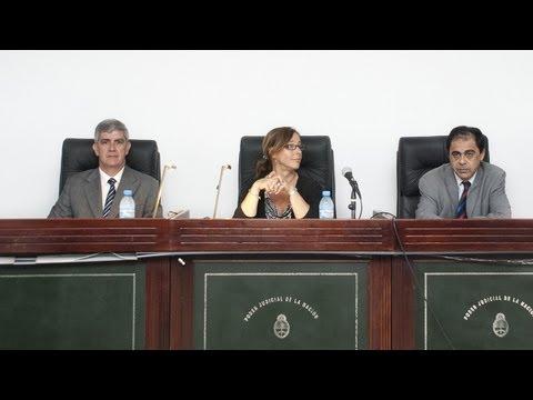 Croma��n: se reanud� el juicio oral y p�blico