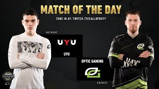 UYU vs OpTic Gaming | CWL Pro League 2019 | Division A | Week 1 | Day 2