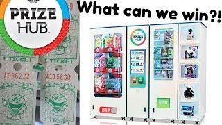 Prize Hub In Walmart Game Room What Can I Win?? Arcadejackpotpro