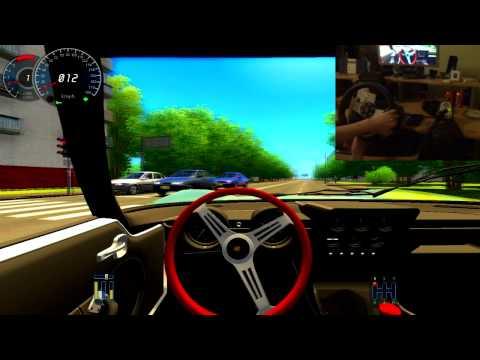 City Car Driving 1.2.5 - Lamborghini Miura P400 - Logitech G27