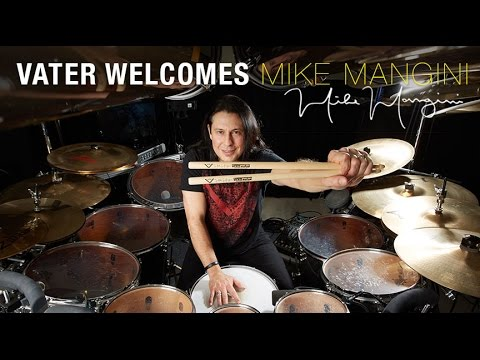 Vater Drumsticks - Mike Mangini - Drumstick Artist Announcement
